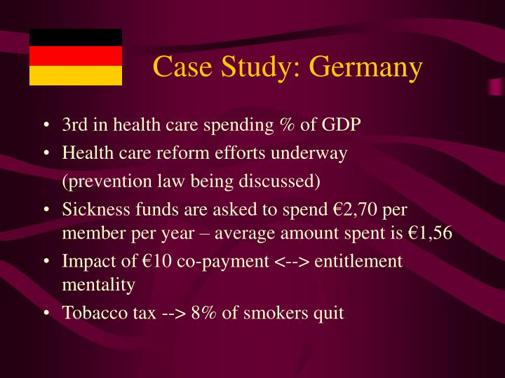 Case Study: Germany