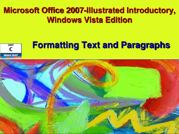 Microsoft office 2007 illustrated introductory windows vista edition l.jpg