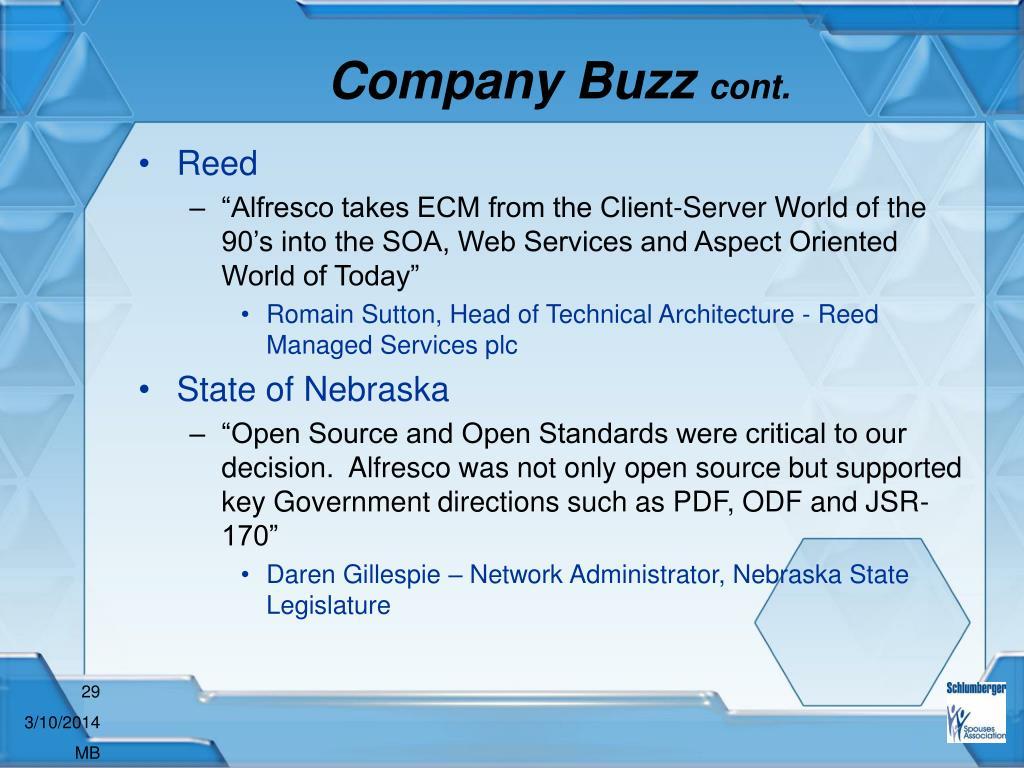 Company Buzz