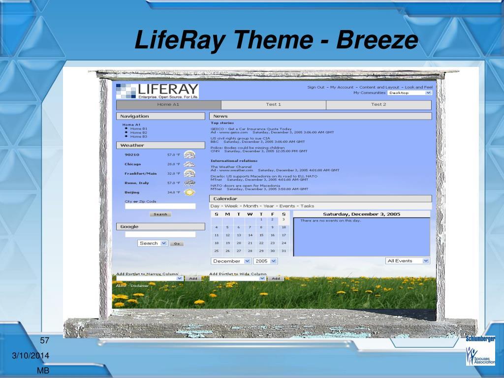 LifeRay Theme - Breeze