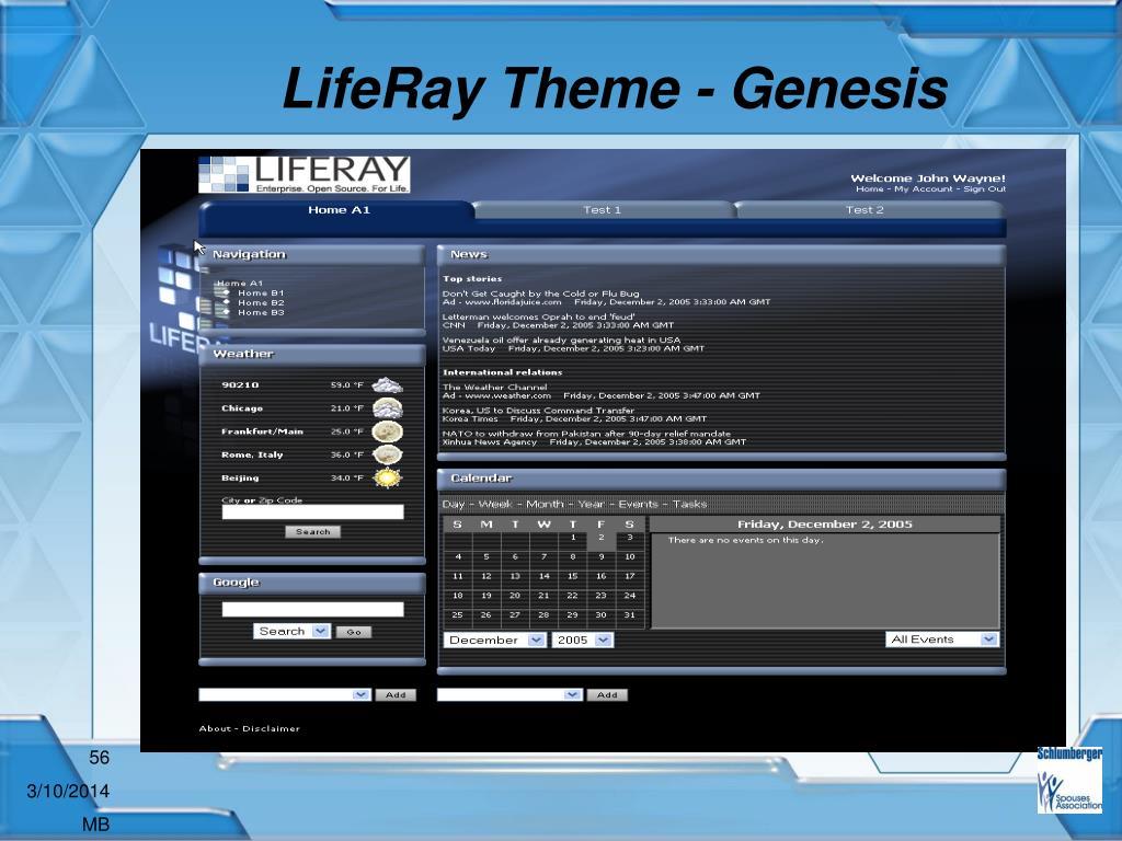LifeRay Theme - Genesis