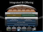 integrated bi offering