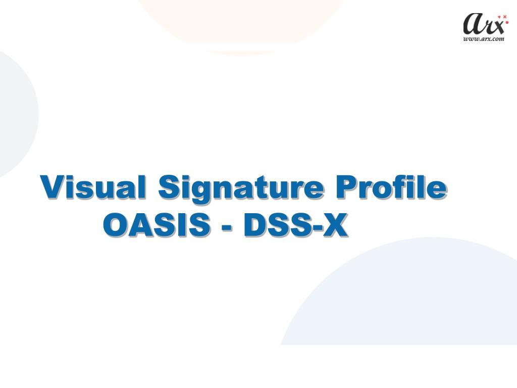 Visual Signature Profile