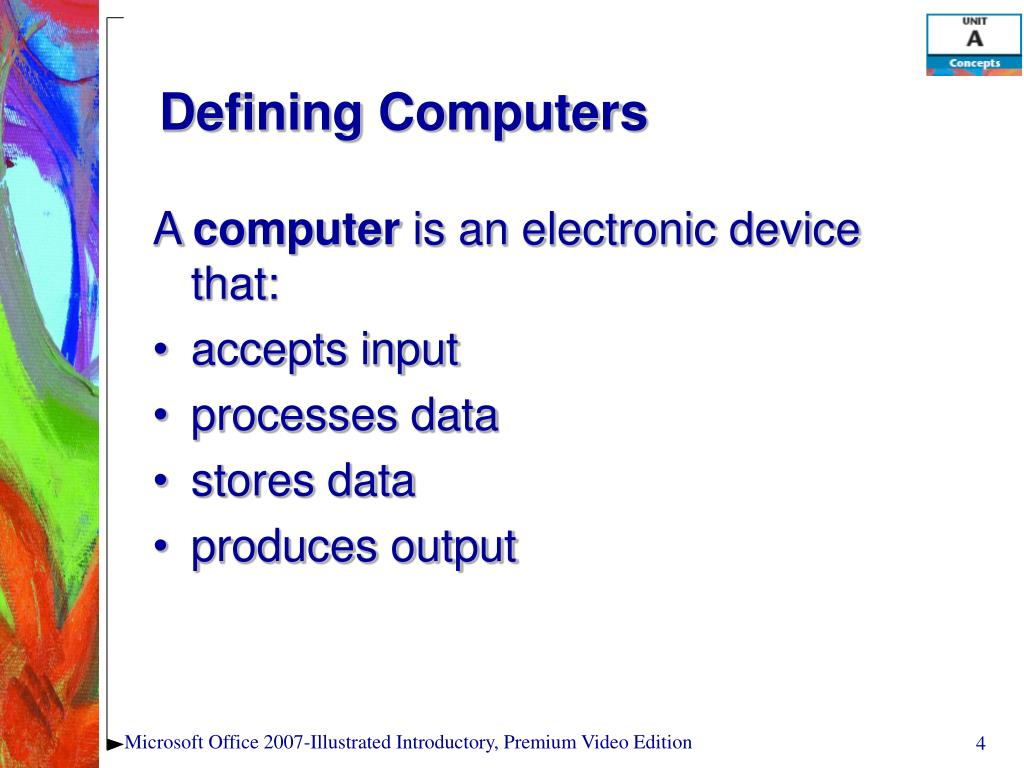 Defining Computers
