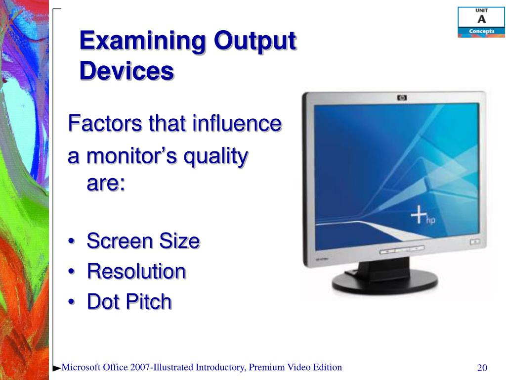 Examining Output Devices