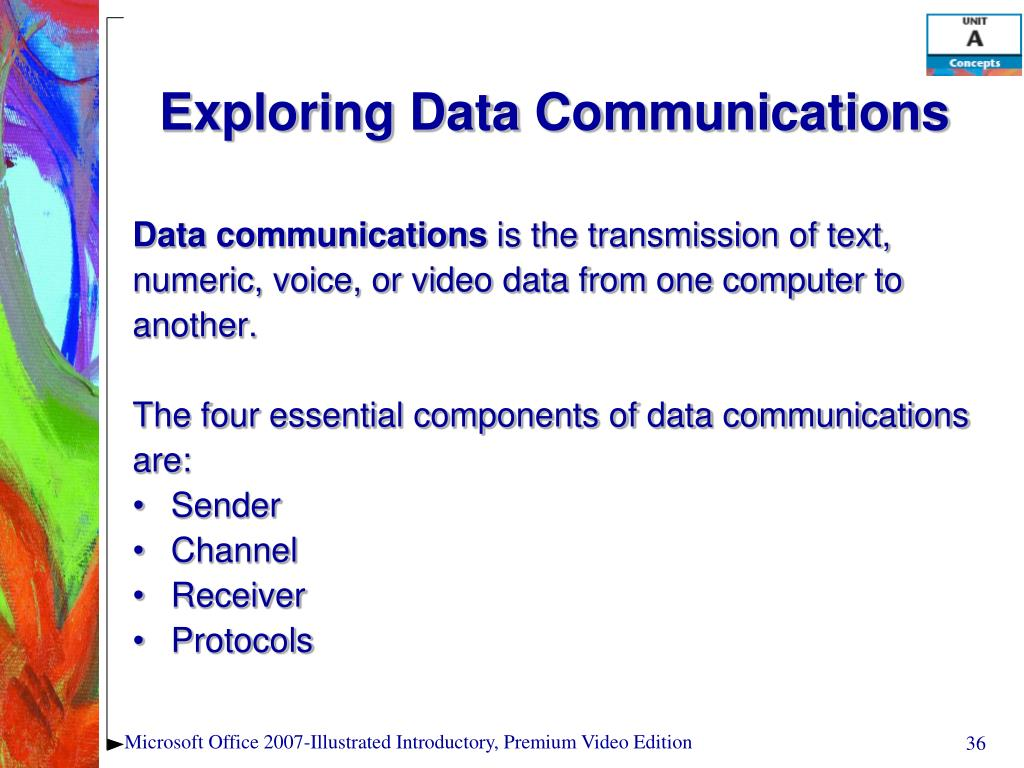 Exploring Data Communications