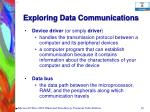 exploring data communications38