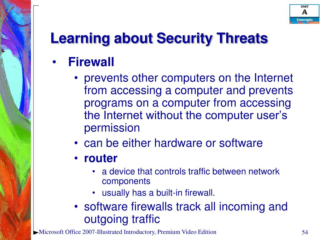 Learning about Security Threats