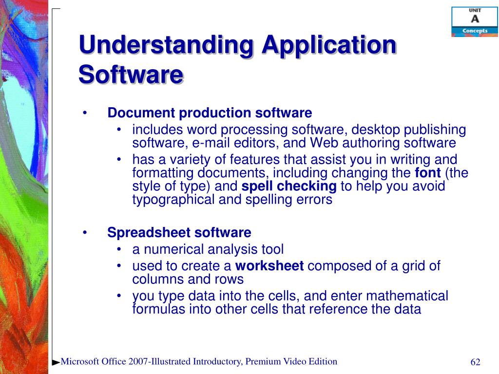 Understanding Application Software