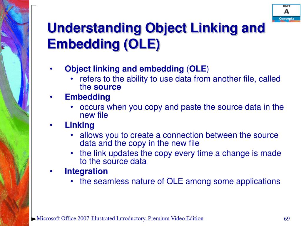Understanding Object Linking and Embedding (OLE)