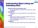 understanding object linking and embedding ole