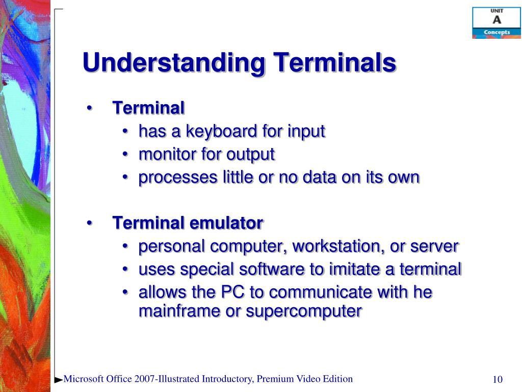 Understanding Terminals