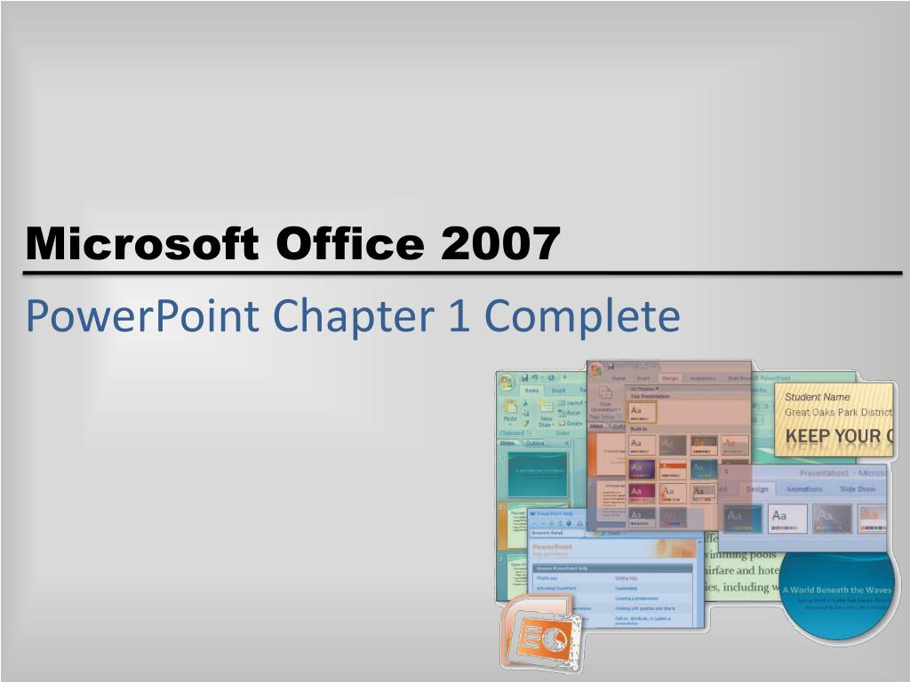 PowerPoint Chapter 1 Complete