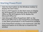 starting powerpoint62