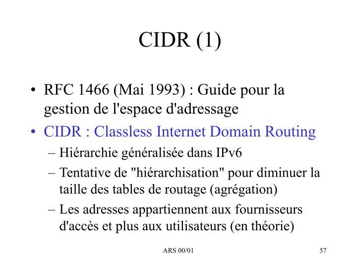 CIDR (1)