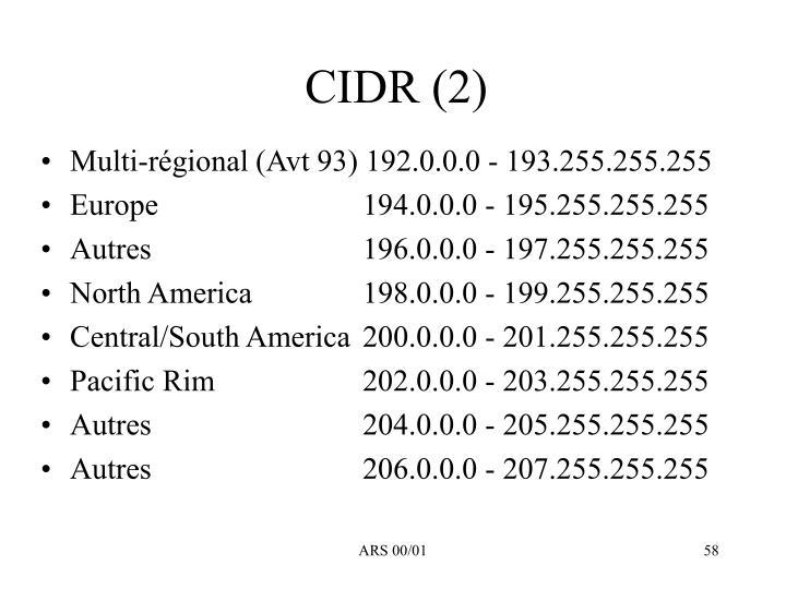 CIDR (2)