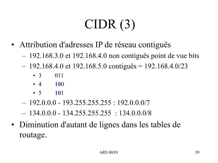 CIDR (3)