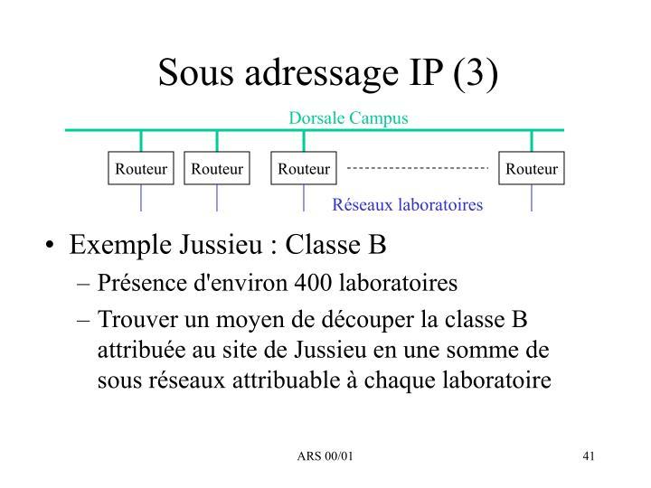 Sous adressage IP (3)