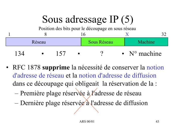 Sous adressage IP (5)