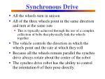 synchronous drive2