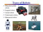 types of robots1