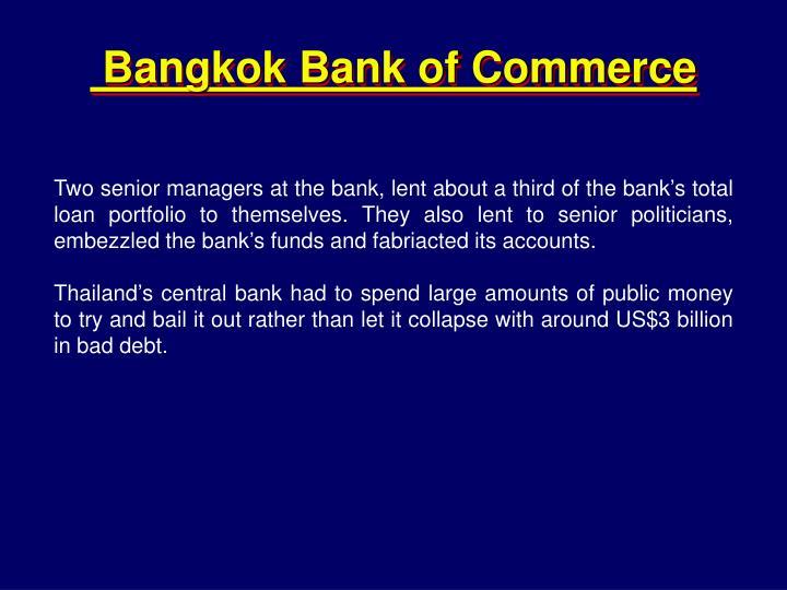 Bangkok Bank of Commerce
