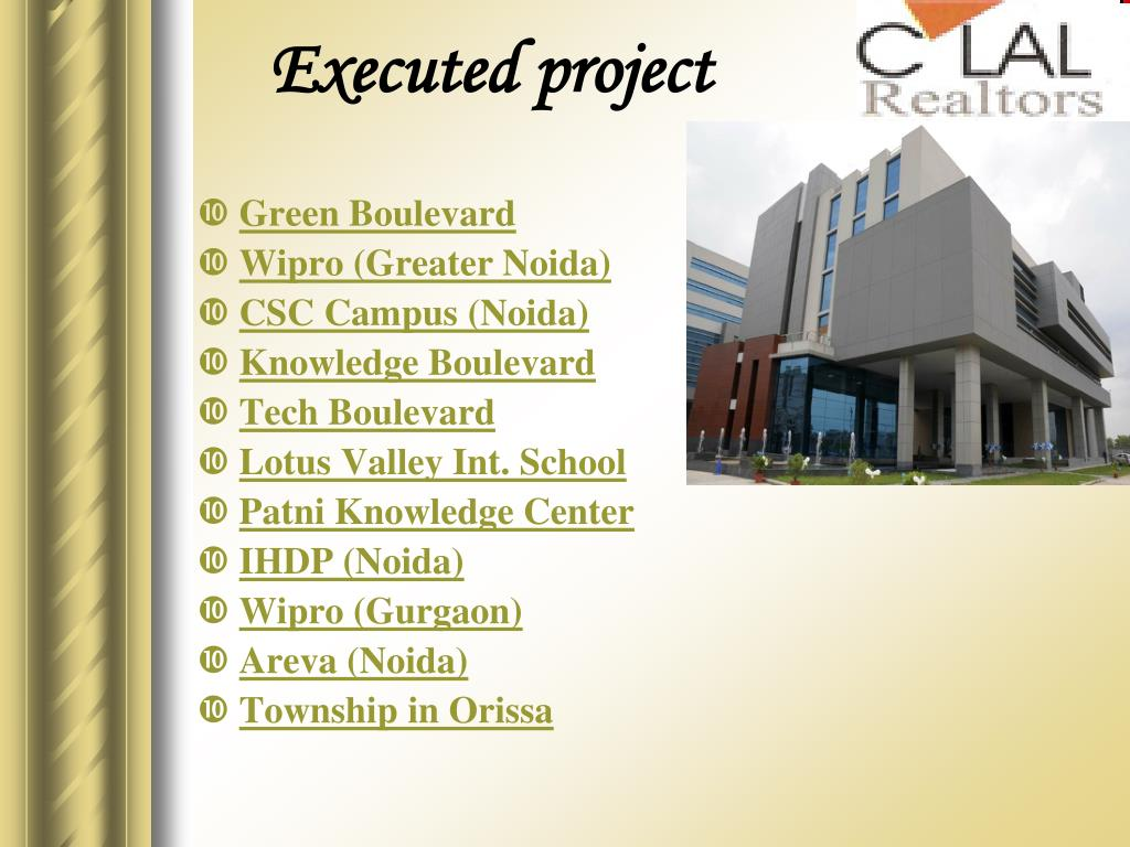 Executed project