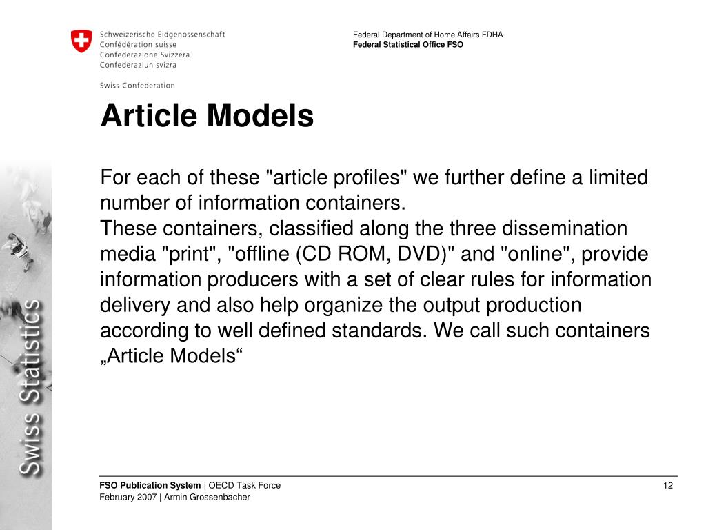 Article Models