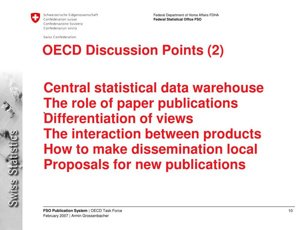 OECD Discussion Points (2)