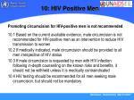 10 hiv positive men