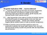 6 gender