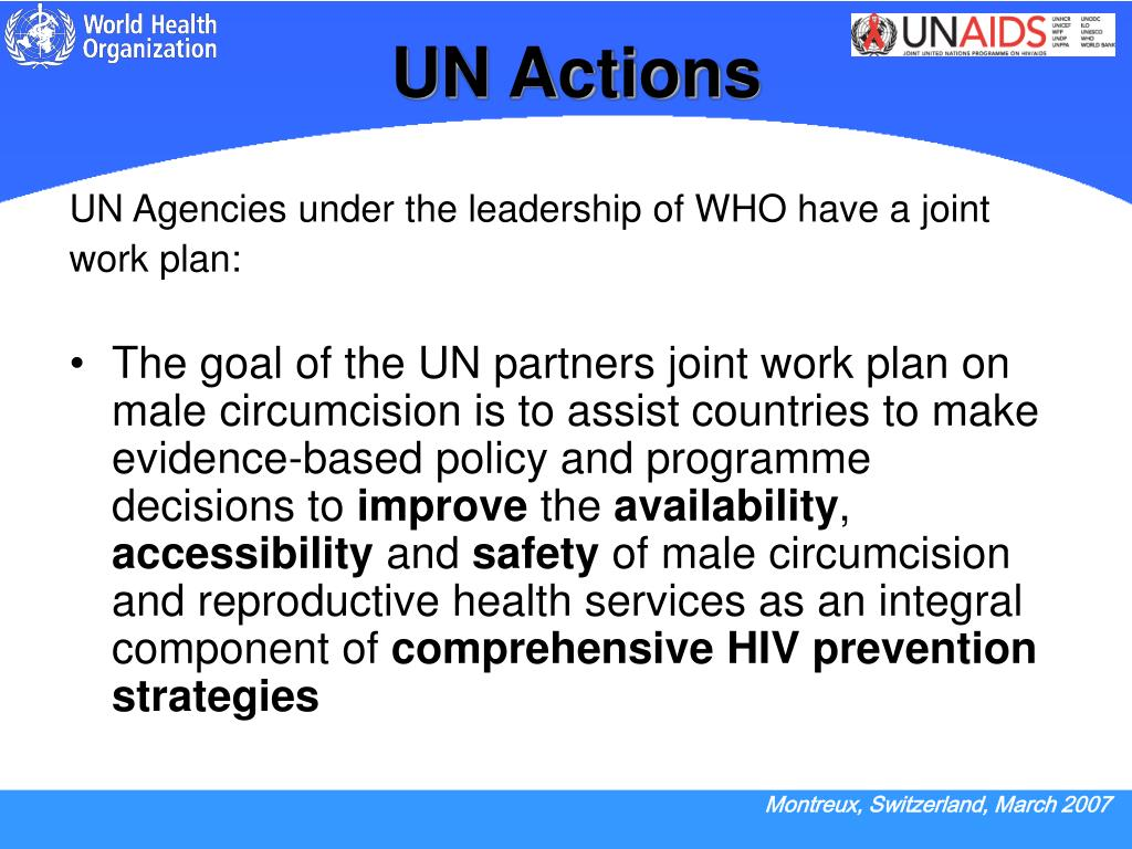 UN Actions