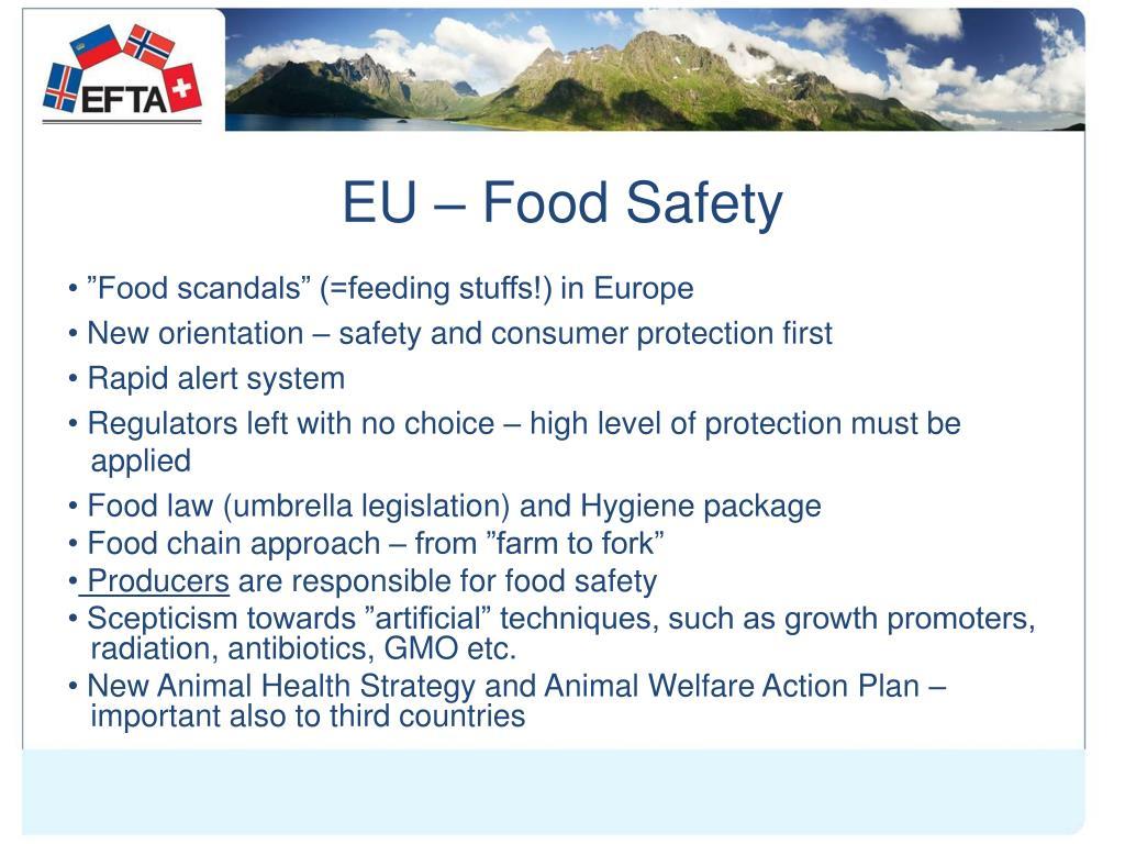 EU – Food Safety