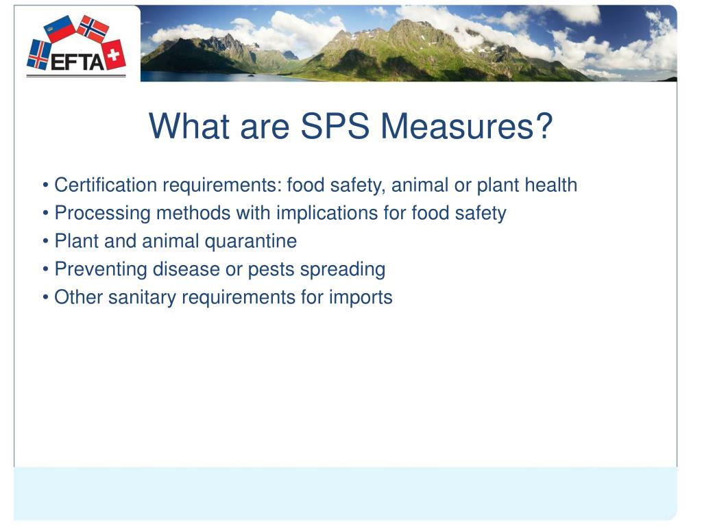 What are SPS Measures?