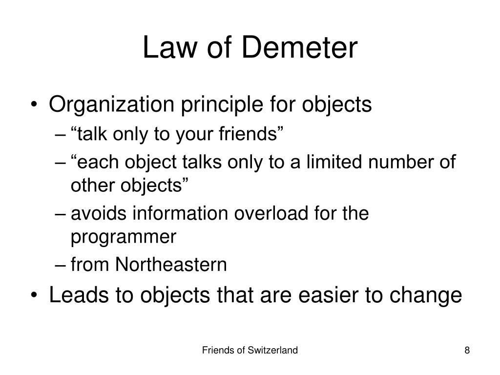 Law of Demeter