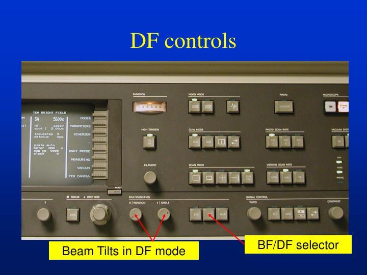 BF/DF selector