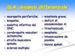sla diagnosi differenziale