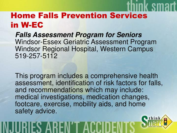 Home Falls Prevention Services
