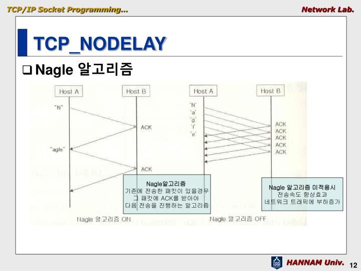 TCP_NODELAY