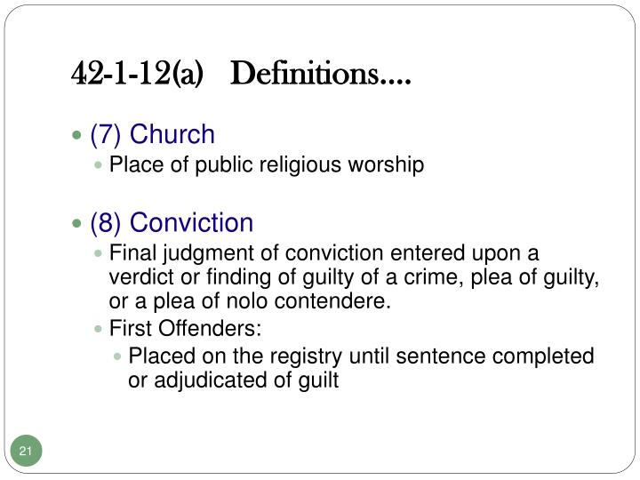 42-1-12(a)   Definitions….