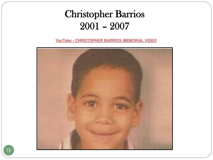 Christopher Barrios