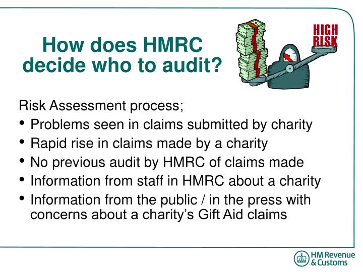 How does HMRC decide who to audit?