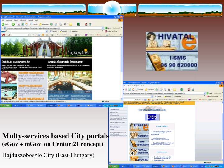Multy-services based City portal
