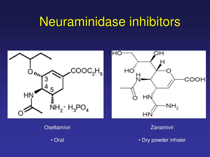 Neuraminidase inhibitors