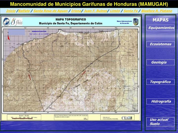 Mancomunidad de Municipios Garifunas de Honduras (MAMUGAH)