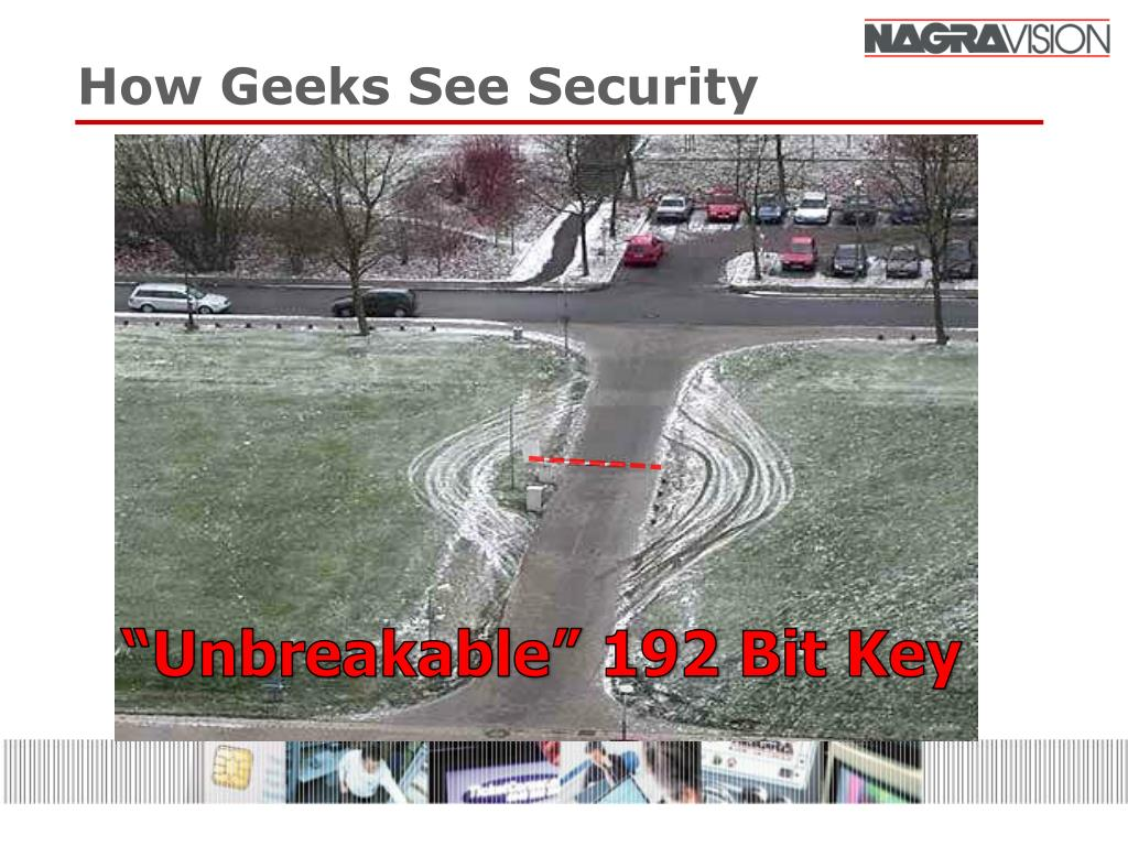 How Geeks See Security