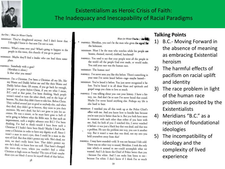 Existentialism as Heroic Crisis of Faith: