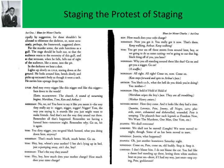 Staging the Protest of Staging