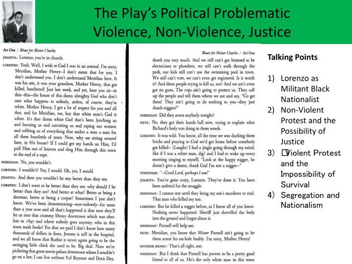 The Play's Political Problematic