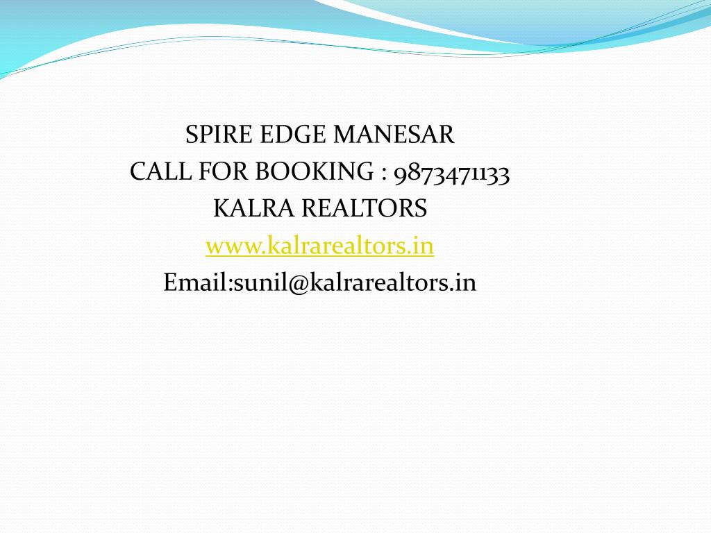 SPIRE EDGE MANESAR